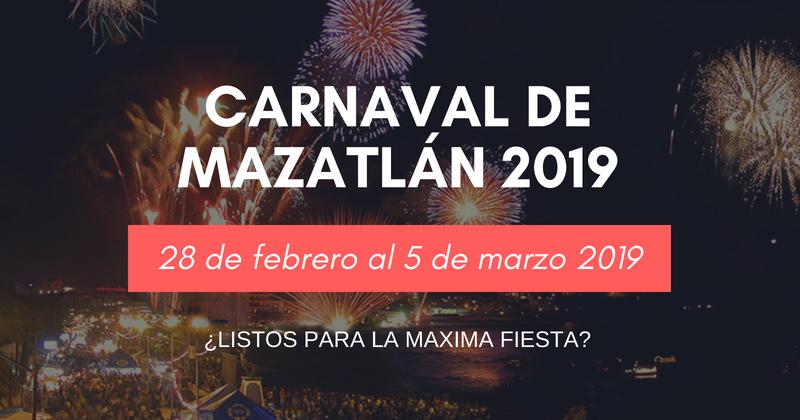 Carnaval mazatlan 2019