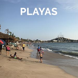 Playas en Mazatlán